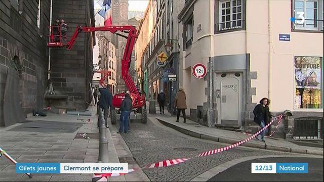 """""""Gilets jaunes"""" : Clermont-Ferrand se prépare"""