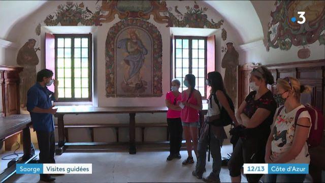 Visite du monastère de Saorge