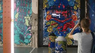 40 street artistes ont investi un immeuble abandonné de Lyon à l'occasion du 1er ZOO Art Show, ouvert gratuitement au public tous les week-ends jusqu'au 29 juillet.  (culturebox - capture d'écran)