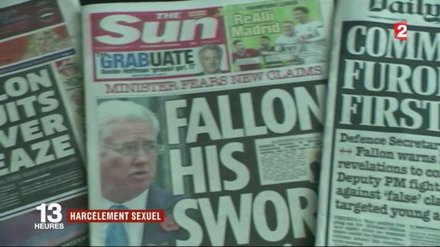 Harcèlement sexuel :  démission de Michael Fallon, ministre de la Défense britannique