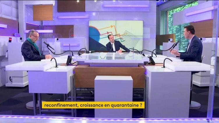 Les débats de l'éco du 21 mars 2021. (FRANCEINFO)