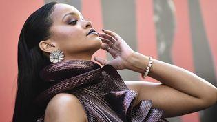 La chanteuse Rihanna en 2018 à New York  (Evan Agostini/AP/SIPA)
