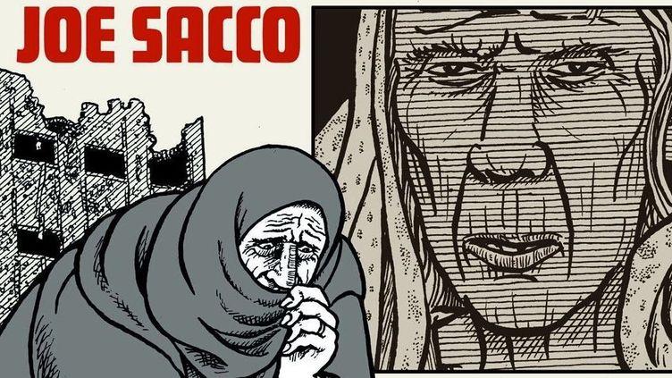 Joe Sacco  (Jea Sacco / Futuropolis)