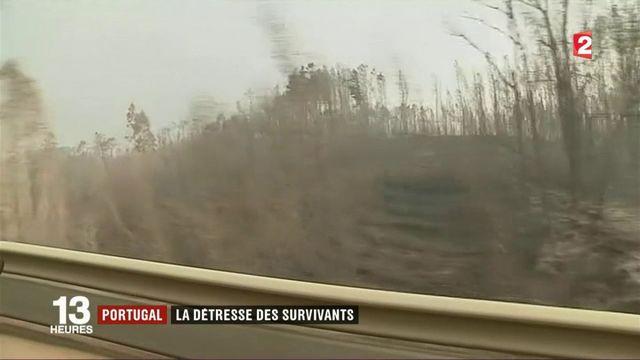 Incendie meurtrier au Portugal : la détresse des survivants
