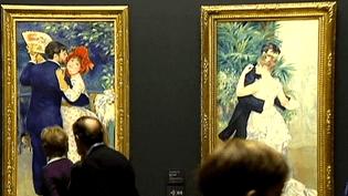 Les chefs-d'œuvre de Renoir vont bientôt quitter le Musée d'Orsay pour Tokyo (Japon). (FRANCE 3)