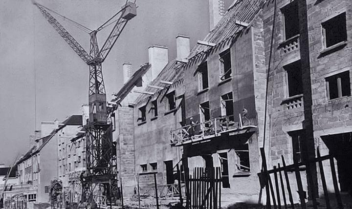 Les travaux de reconstruction en dur débuteront à partir de 1948  (Culturebox)