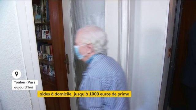 Aide à domicile : le gouvernement accorde une prime de 1 000 euros