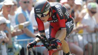 L'Australien Rohan Dennis, lors de la première étape du Tour de France, samedi 4 juillet 2015. (CHRISTOPHE ENA/AP/SIPA / AP)