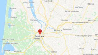 L'agression s'est déroulée en plein centre ville de Bordeaux. (GOOGLE MAPS)