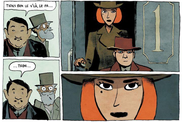 """Serena"", page 7, Anne-Caroline Pandolfo (scénario) et Terkel Risbjerg (dessin)"