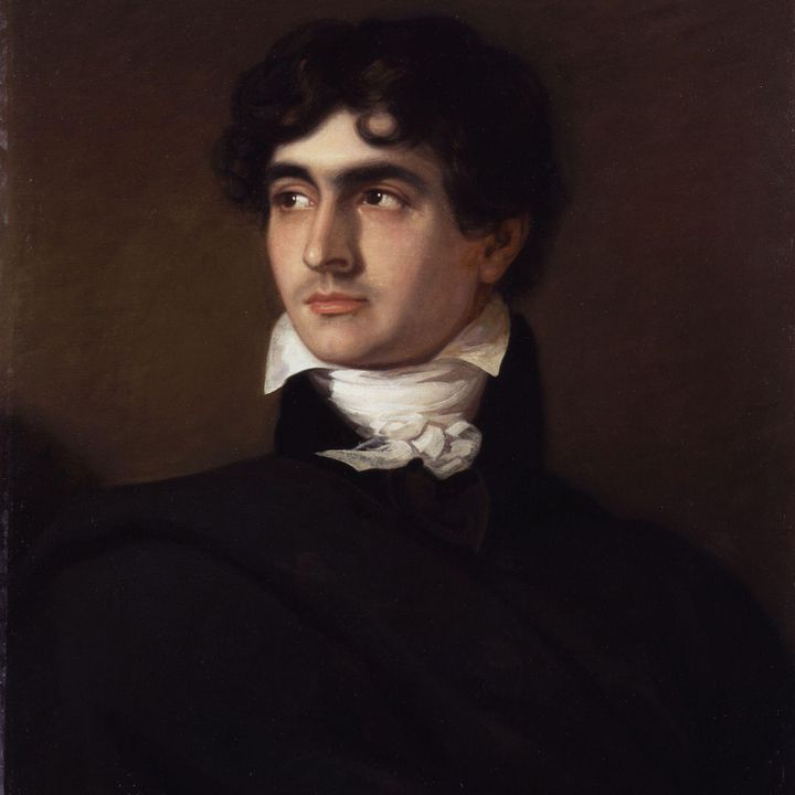 """John William Polidori (1795-1821), auteur du """"Vampire"""" (1819)  (DR)"""