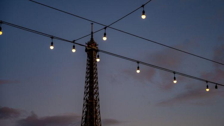Soir d'été à Paris. (SANDRINE MARTY / HANS LUCAS VIA AFP)