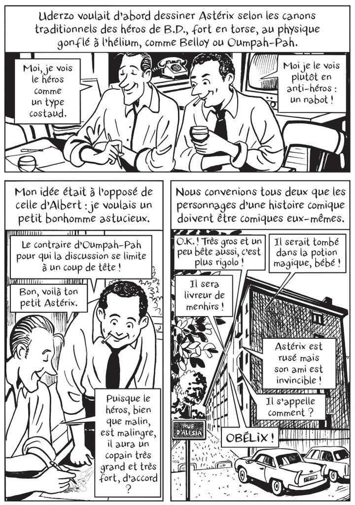 """""""Le roman des Goscinny, naissance d'un Gaulois"""", page 300 (Catel / Grasset)"""