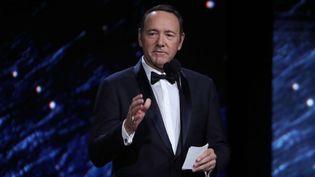 L'acteur Kevin Spacey aux BAFTA en octobre 2017.  (Chelsea Lauren/Variety/Shutters/SIPA)