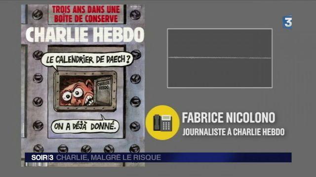 Charlie Hebdo : trois ans après, la peur est toujours présente