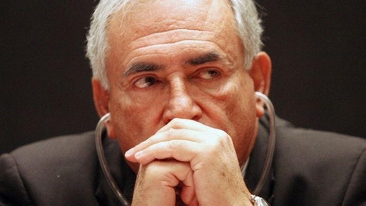Dominique Strauss-Kahn, directeur général du FMI (© AFP/GERALDO CASO BIZAMA)