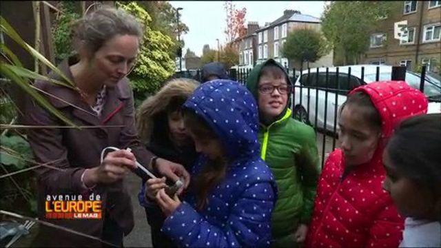 A Londres, une mère de famille sensibilise les écoliers à la pollution