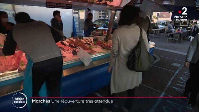 Déconfinement : une réouverture des marchés très attendue en France