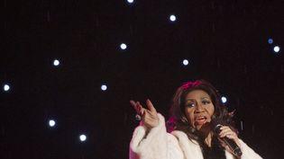 Aretha Franklin, le 6 décembre 2013, à Washington (Etats-Unis). (SAUL LOEB / AFP)