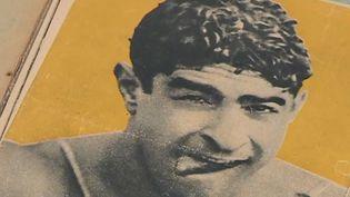 Le nageur français Alfred Nakache, rescapé du camp de la mort d'Auschwitz (Pologne), entre au Hall of Fame de la natation mondiale aux États-Unis. (FRANCE 3)