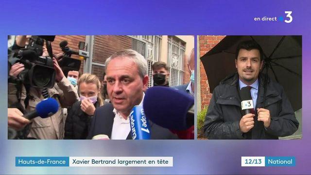 Régionales : Xavier Bertrand s'envole dans les Hauts-de-France