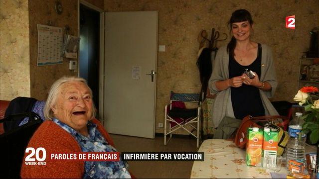 Paroles de Français : infirmière par vocation