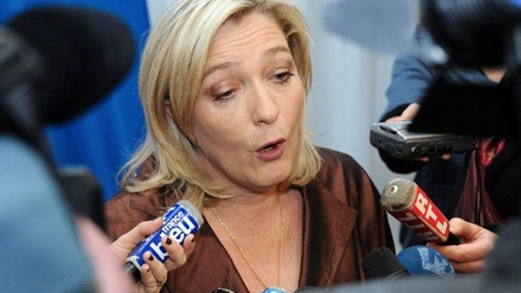 Marine Le Pen (6 mars 2011) (AFP/Philippe Huguen)