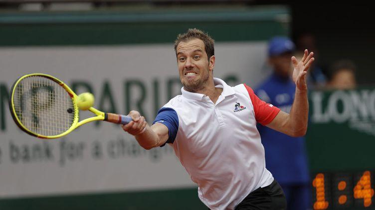 (Richard Gasquet n'a jamais passé la barrière des huitièmes de finale à Roland-Garros © MaxPPP)
