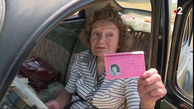 Yvonne Abgrall, 94 ans et toujours au volant