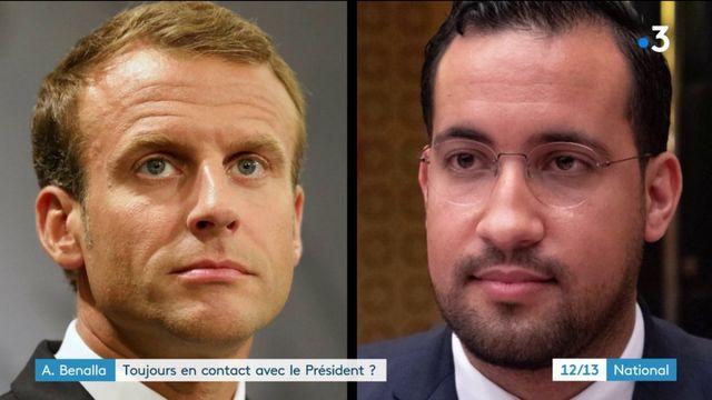 Benalla : toujours en contact avec le président de la République ?