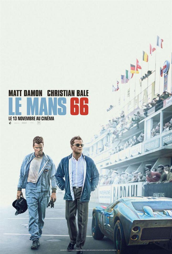 """L'affiche de """"Le Mans 66"""" de James Mangold. (TWENTIETH CENTURY FOX FRANCE)"""