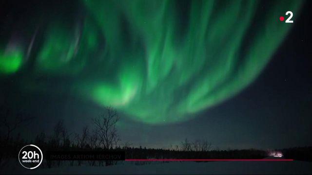 Russie : une nuit avec des chasseurs d'aurores boréales