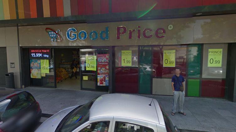"""Le commerce """"Good Price"""", à Colombes (Hauts-de-Seine) était accusé par son bailleur de ne pas respecter le bail """"alimentation générale"""". (GOOGLE STREET VIEW)"""