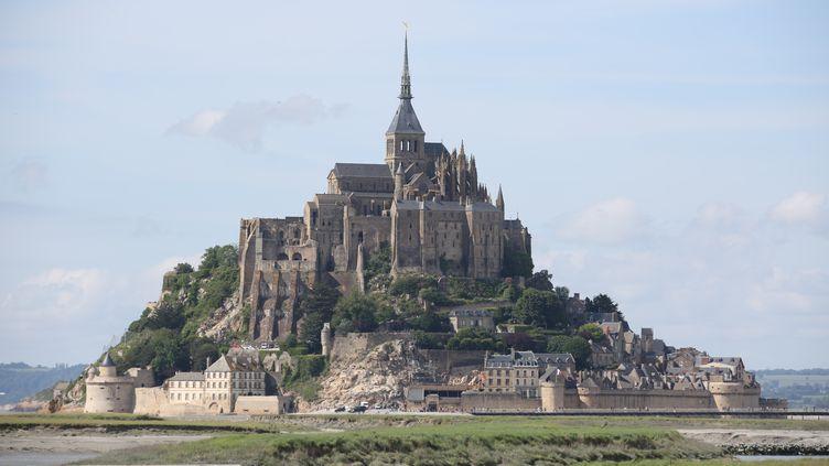 Le Mont-Saint-Michel (Manche), le 3 juin 2017. (LUDOVIC MARIN / AFP)