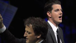 Le contreténor Philippe Jaroussky au Victoires de la musique en 2009  (JEAN-CHRISTOPHE VERHAEGEN / AFP)