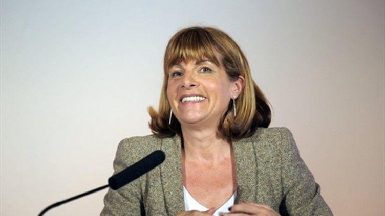 Anne Lauvergeon à Paris le 3 mars 2011 (AFP - ERIC PIERMONT)