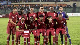L'équipe du Qatar, ici lors d'un match en octobre 2019, n'affrontera pas les meilleures sélections sud-américaines. (MUNIR UZ ZAMAN / AFP)