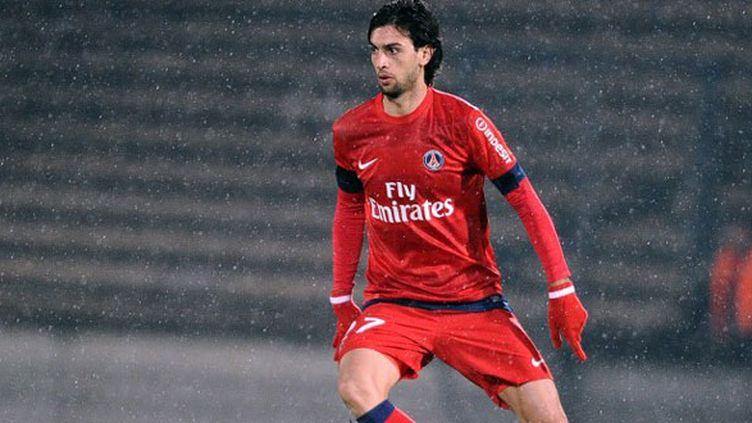 Javier Pastore, joueur du PSG