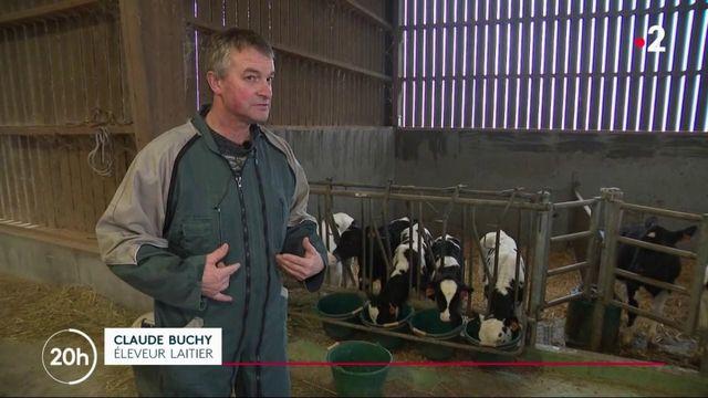 Covid-19 : inquiétude chez les producteurs de lait
