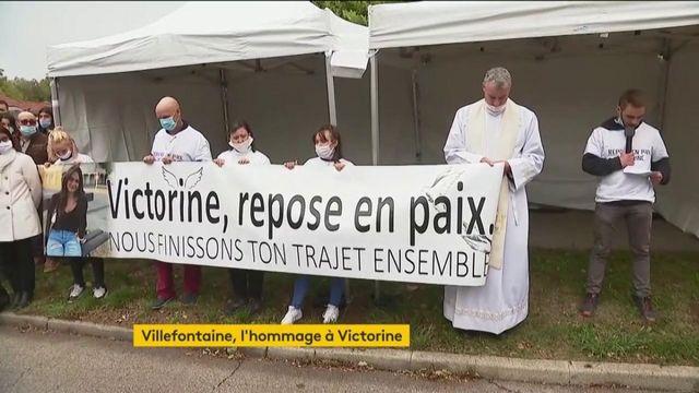 Villefontaine : une arche blanche en hommage à Victorine Dartois