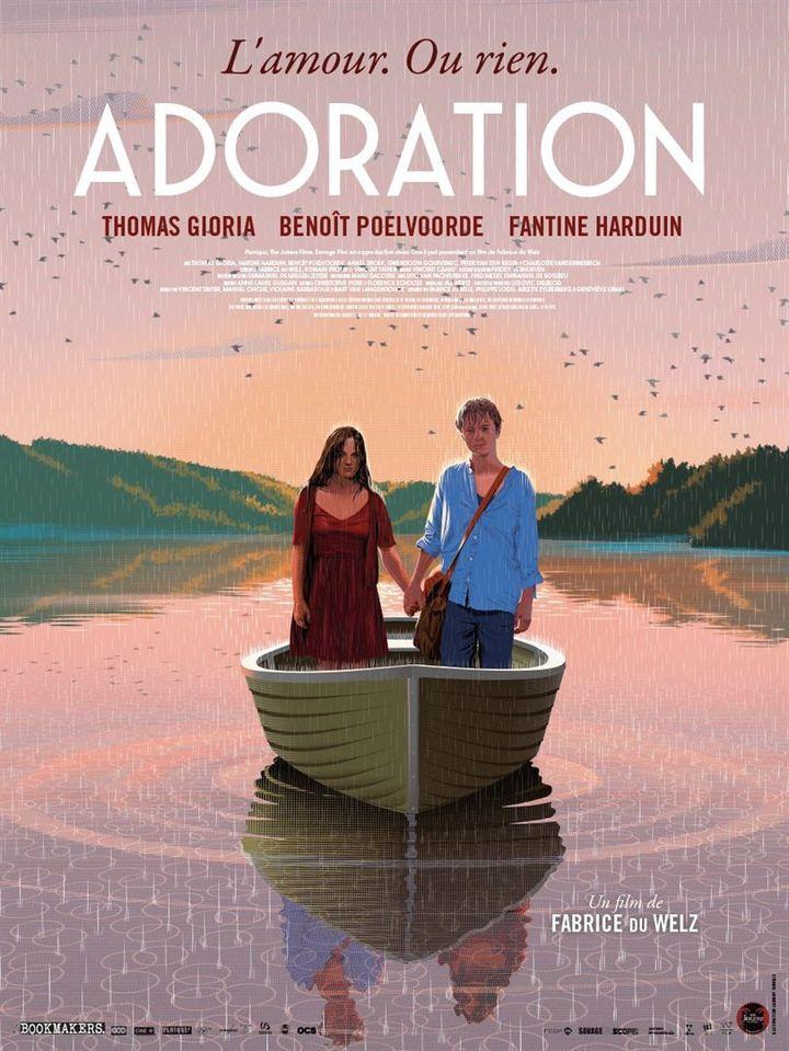 """Affiche du film """"Adoration"""", de Fabrice Du Welz (2020) (Les Bookmakers / The Jokers)"""