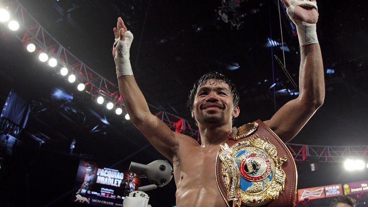 Manny Pacquiao, vainqueur de son dernier combat