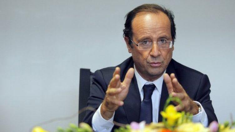 François Hollande (29 septembre) (NICOLAS TUCAT / AFP)