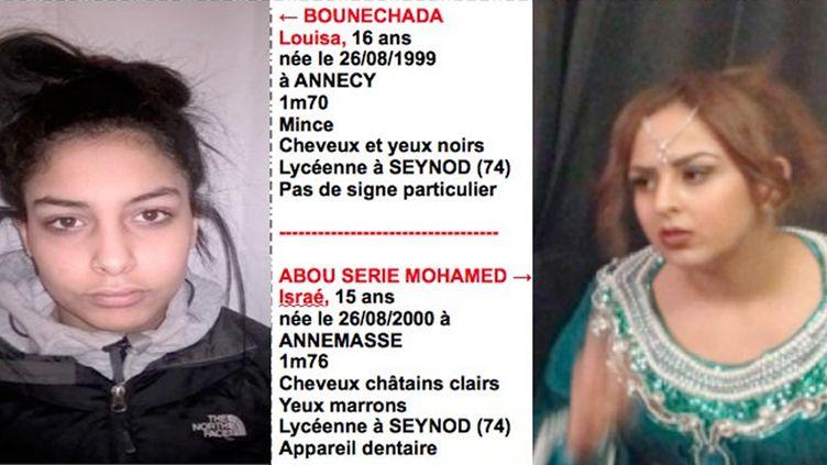 (Les deux jeunes filles avaient montré des signes de radicalisation, selon la police © Gendarmerie nationale)