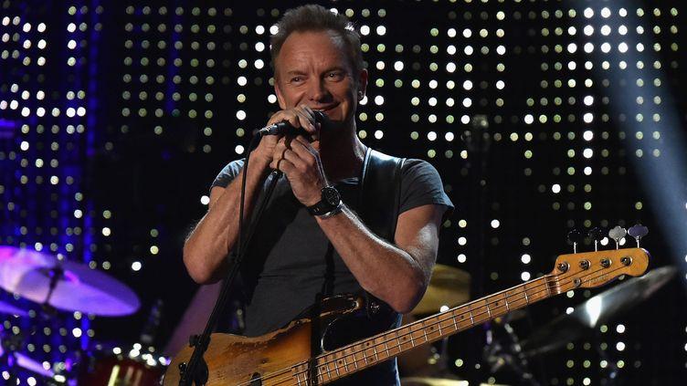 Sting en concert à New York le 9 novembre  (Theo Wargo / GETTY IMAGES NORTH AMERICA / AFP)
