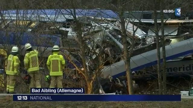 Collision entre deux trains en Allemagne : une erreur humaine à l'origine du drame ?