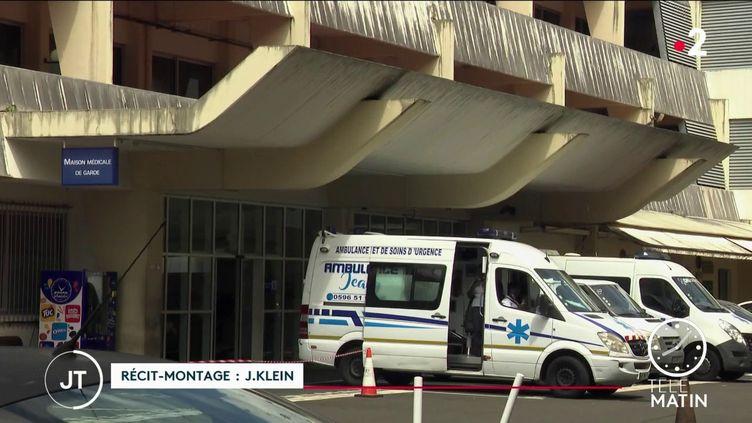 Dans un hôpital de Martinique. (France 2)