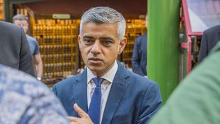 Le maire de Londres, Sadiq Khan, en juin 2017.  (Guy Bell/Shutterstock/SIPA)