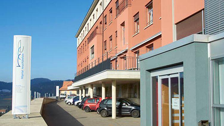 La façade de l'hôpital de Neuchâtel, en Suisse, oùTris Marymount s'est fait voler son argent, lundi 12 décembre 2016. (HOPITAL NEUCHATELOIS)