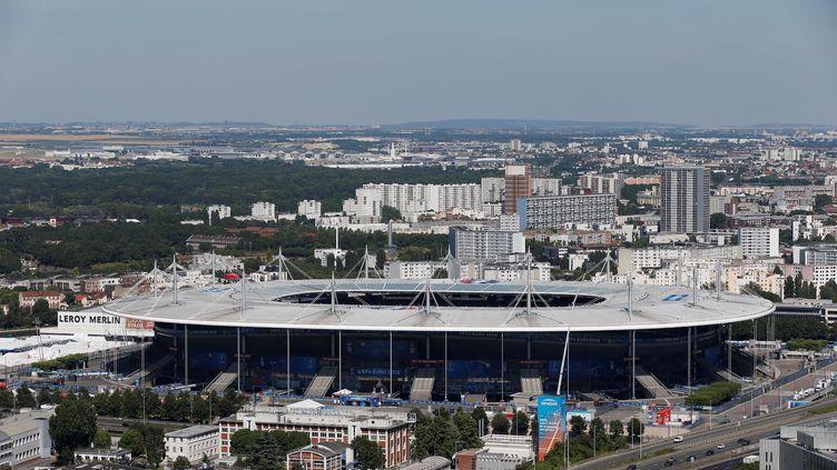 Le Stade de France fête ses 20 ans dimanche 28 janvier 2018. Ci-contre, une vue générale du Stade de France, lors de l'Euro de football en juillet 2016. (MATTHIEU ALEXANDRE / AFP)